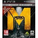 METRO LAST LIGHT LIMITED EDITION PS3