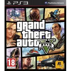 GRAND THEFT AUTO V FIVE PS3 GTA5 VIDEOJUEGO FÍSÍCO PLAYSTATION 3 ROCKSTAR GAMES