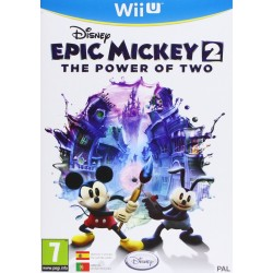 EPIC MICKEY 2 THE POWER OF TWO WIIU NINTENDO WII U VIDEOJUEGO