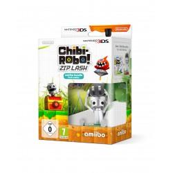CHIBI-ROBO! ZIP LASH + CHIBI-ROBO AMIIBO NINTENDO 3DSXL 2DS