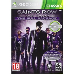 SAINT ROW THE THIRD THE FULL PACKAGE