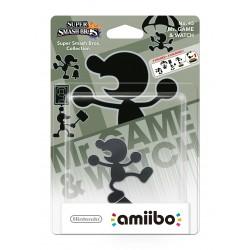 AMIIBO Mr. GAME & WATCH SUPER SMASH BROS Nº 45