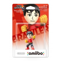AMIIBO Mii BRAWLER KARATEKA SUPER SMASH BROS Nº48