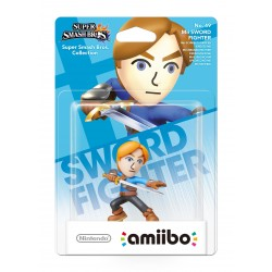 AMIIBO Mii SWORD FIGHTER ESPADACHIN SUPER SMASH nº 49