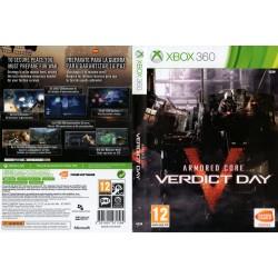 ARMORED CORE : VERDICT DAY XBOX 360 VIDEOJUEGO FÍSICO XBOX360 XBOX 360