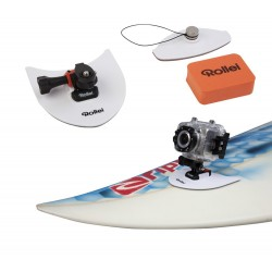 MONTURA TABLA SURF O SNOW ROSCA 1/4 ROLLEI 6S / 7S Y GOPRO ROLLEI SURFING KIT