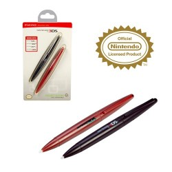 DSI™ DSIXL™ 3DS™ 3DSXL™ 2 STYLUS KIT (PEN SHAPE)