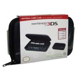 DSI™ DSIXL™ 3DS™ 3DSXL™ ESTUCHE NEGRO PARA CONSOLA Y JUEGOS