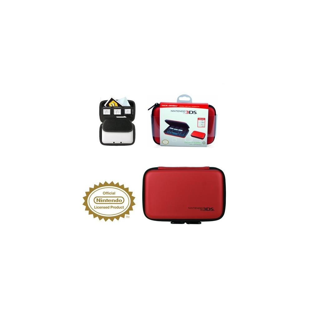 Estuche Rojo Para New Nintendo 3ds Dsi Dsixl 3ds 3dsxl Consola Y