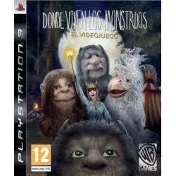 DONDE VIVEN LOS MONSTRUOS-PS3