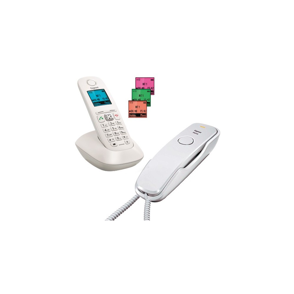 PACK FIJO+ INHALAMBRICO (TELEFONO A-540+DA-210 GIGASET)