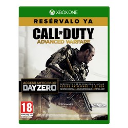 CALL OF DUTY ADVANCED WARFARE DAY ZERO XBOX ONE
