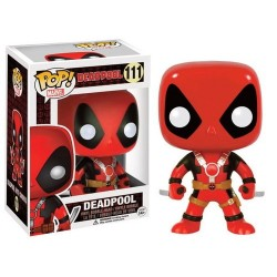 FIGURA POP MARVEL: DEADPOOL 2 ESPADAS FIGURAS MANGA / COMICS
