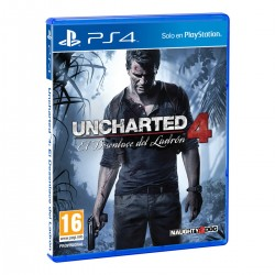 UNCHARTED 4 EL DESENLACE DEL LADRÓN PS4 PLAYSTATION 4