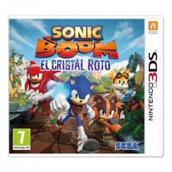SONIC BOOM EL CRISTAL ROTO 3DS NINTENDO 2DS