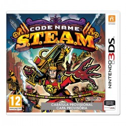 CODE NAME: S.T.E.A.M. 3DS NINTENDO 2DS