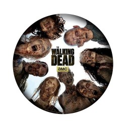 ALFOMBRILLA PC THE WALKING DEAD ROUND OF ZOMBIES MERCHANDISING CINE