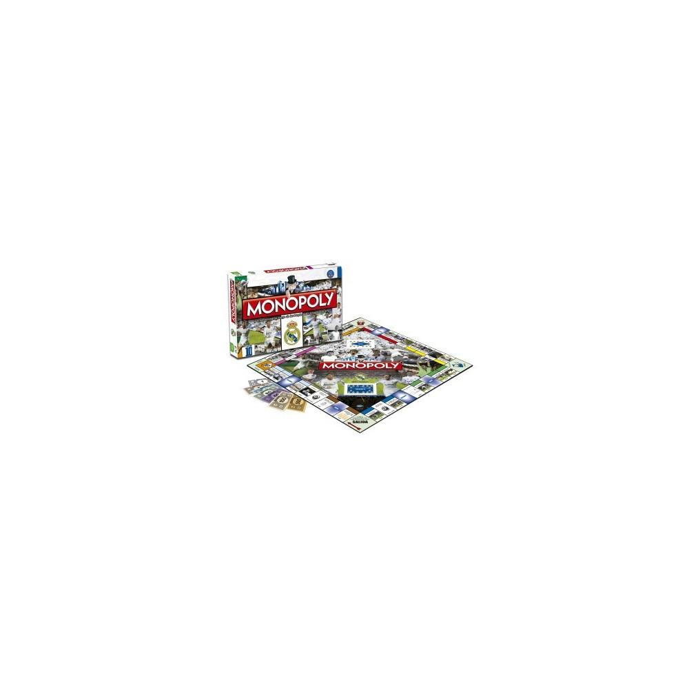 Monopoly Real Madrid 2º Edicion Espanol Ingles Juegos Mesa The