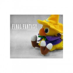 PELUCHE FINAL FANTASY CHOCOBO BLACK MAGE 15 CENTIMETROS PELUCHES VIDEOJUEGOS
