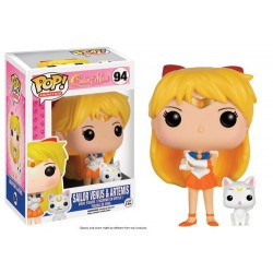 FIGURA POP SAILOR MOON: VENUS Y ARTEMIS FIGURAS MANGA / COMICS