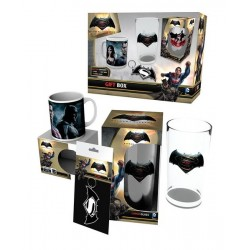 SET REGALO TAZAS BATMAN VS SUPERMAN TAZAS MANGA / COMICS
