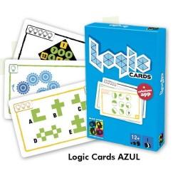 LOGIC CARDS AZUL JUEGOS DE MESA JUEGOS EDUCATIVOS