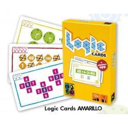 LOGIC CARDS AMARILLO JUEGOS DE MESA JUEGOS EDUCATIVOS