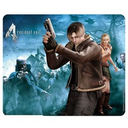 ALFOMBRILLA RESIDENT EVIL LEON & ASHLEY MERCHANDISING VIDEOJUEGOS