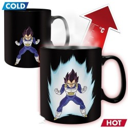 TAZA DRAGON BALL VEGETA 460 ML (POR CALOR) TAZAS MANGA / COMICS