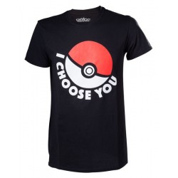 CAMISETA POKEMON CHOOSE M CAMISETAS MANGA / COMICS
