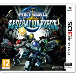 METROID PRIME FEDERATION FORCE 3DS NINTENDO 3DSXL COMPATIBLE 2DS Y AMIIBO