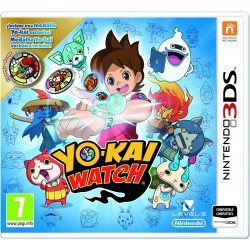 YO-KAI WATCH (incluye MEDALLA EXCLUSIVA) 3DS XL VIDEOJUEGO NINTENDO 2DS 3DS