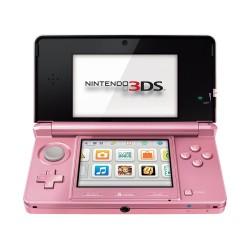 CONSOLA NINTENDO 3DS ROSA CORAL COMPATIBLE CON JUEGOS DS y DSi CONSOLA PORTATIL