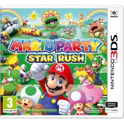 MARIO PARTY STAR RUSH 3DS COMPATIBLE NINTENDO 2DS AMIIBO VIDEOJUEGO 3DS