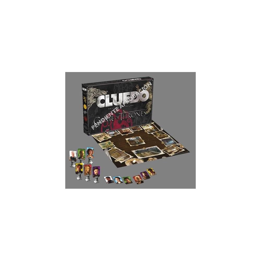 Cluedo Juego De Tronos Juegos De Mesa Juegos Clasicos The Shop Gamer
