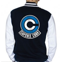 CHAQUETA DRAGON BALL CAPSULE CORP XXL Camisetas Manga Dragon Ball