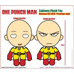 PELUCHE ONE PUNCH SAITAMA ENFADADO 25 CENTIMETROS Peluches Manga One Punch