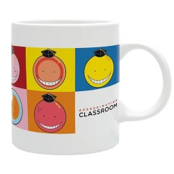 TAZA ASSASSINATION CLASSROOM KORO CARAS Cómics y Manga Assassination Classroom