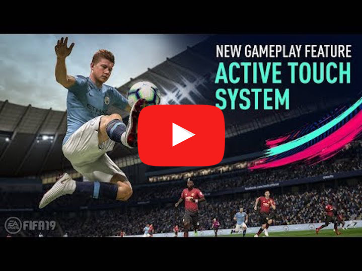 fifa 19 - Active Touch System