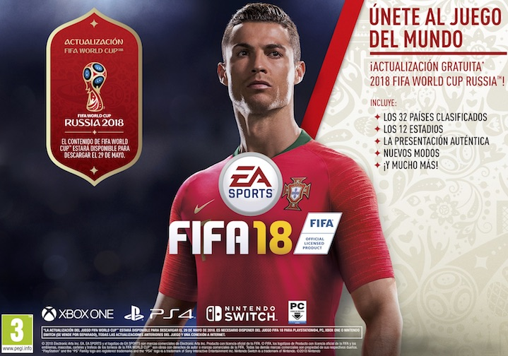 FIFA 18 WORLD CUP RUSSIA 2018 PS4
